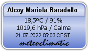 Alcoy Mariola-Baradello