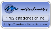 Meteoclimatic +2.000 estaciones on-line
