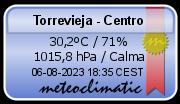 El tiempo - Torrevieja centro